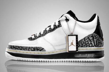 Air Jordan Fusion 3 - White/Metallic Silver-Black-Maize