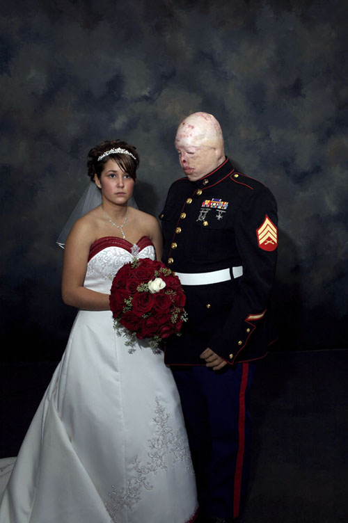 Nina Berman, Marine wedding