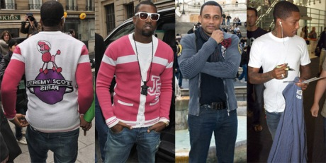 kanye-hill-harper-and-pharrell-wearing-mens-latest-trend-the-button-up-cardigan
